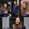 ▬ 30 novembre 2012 ♦ Katharine sur le tournage de SMASH