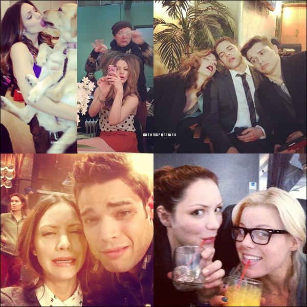 • 26 janvier 2013▬ Quelques photos de Katharine provenant de son compte instagram
