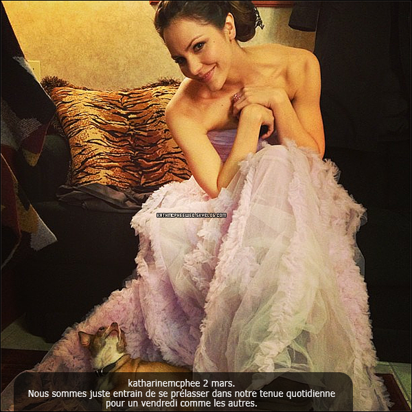• 2 & 3 mars 2013▬ Photos du compte Instagram de Katharine.