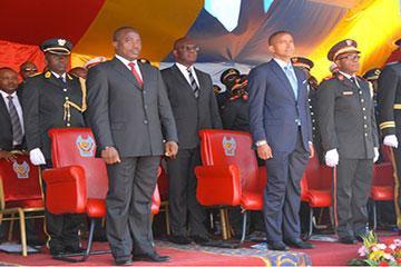 Moïse Katumbi Chapwe et Joseph Kabila Kabange