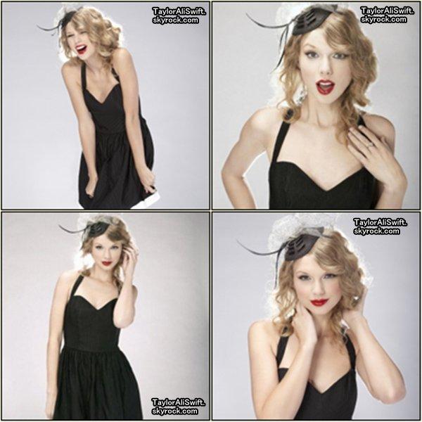 .    Taytay' avait participé a un photoshoot pour Bliss Magazine datant de 2010 / (Des nouvelles photos :)).     . Je trouve que Taylor joue très bien le jeu, de plus j'adore ses tenues. Vous en pensez quoi ? ^^   . .