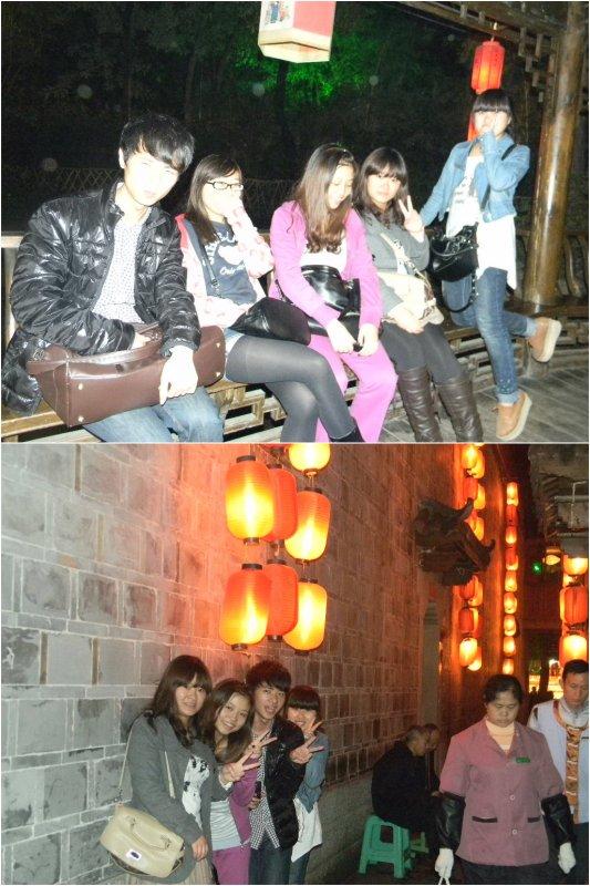 Une flane à Chengdu