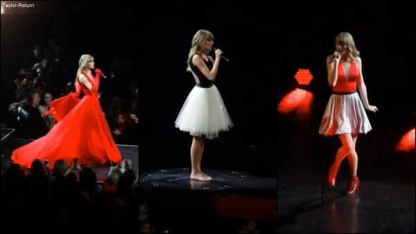 Le 13 Mars 2013, Le Red Tour débutait à Omaha, Nebraska.