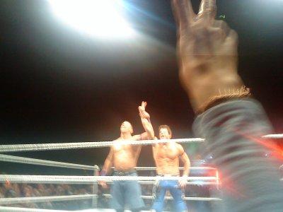 Une soirée à la WWE