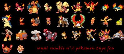 Nouveaux Royal Rumble DE Type Feu (diable)
