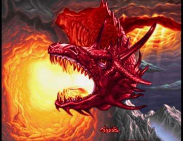 Les dragons rouge.