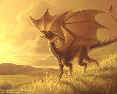 Les dragons d'or.