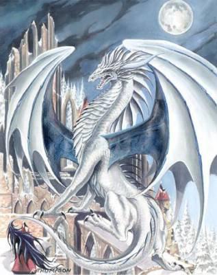 Les dragon blanc.