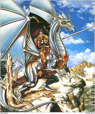 Les dragons d'argents.