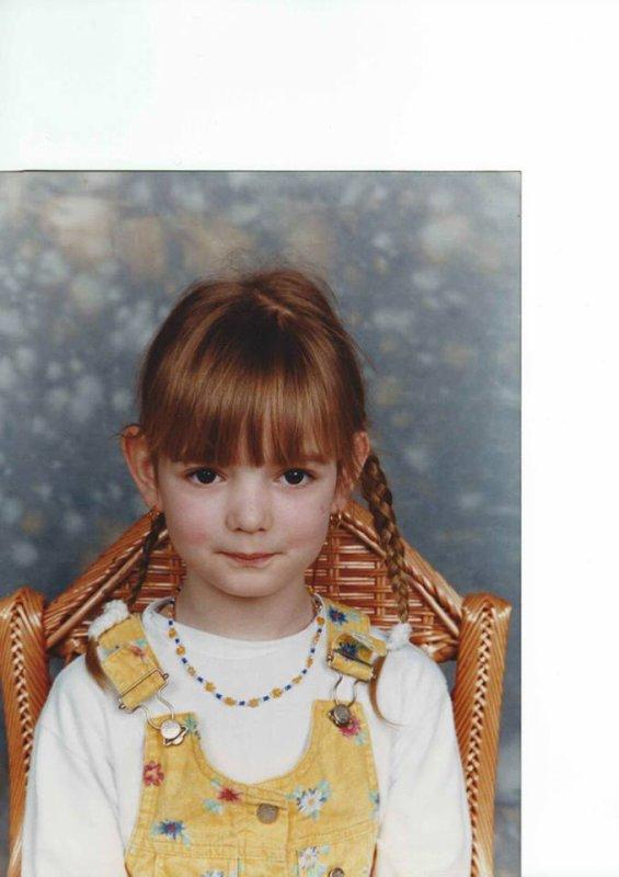 je vous plait quand j'était petite ? :p