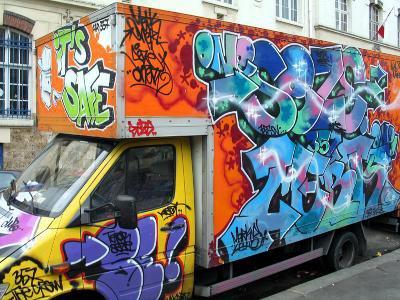 le graffiti la liberte dexpression et nee sur les mur