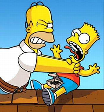 Homer vs Bart