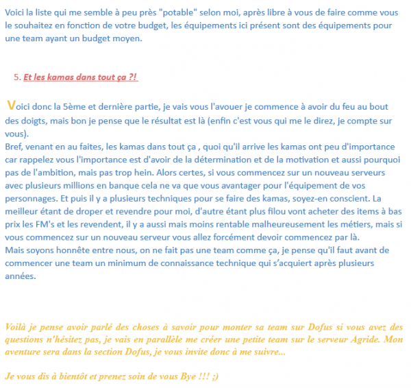 Tutoriel : (suite) Part02