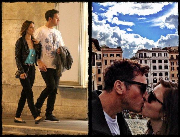Audrina et Corey en amoureux à Rome