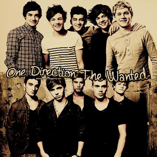 . Suit toute l'actualité des deux groupes britannique One Direction & The Wanted !.