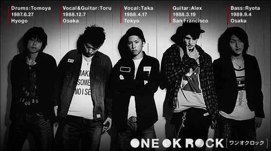ONE OK ROCK, un groupe, des chansons juste génial !!