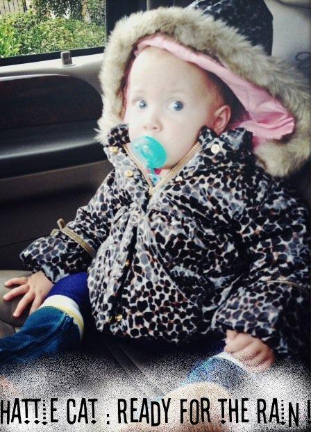 Tori a récemment postée une photo de Hattie sur son site . Hattie est trop chou !