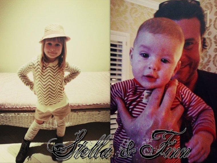 Tori a postée 2 photos de Stella & Finn sur son site . Finn est trop chou !!!!! 4 photos de la Saint-Valentin des McDermott sont apparus !