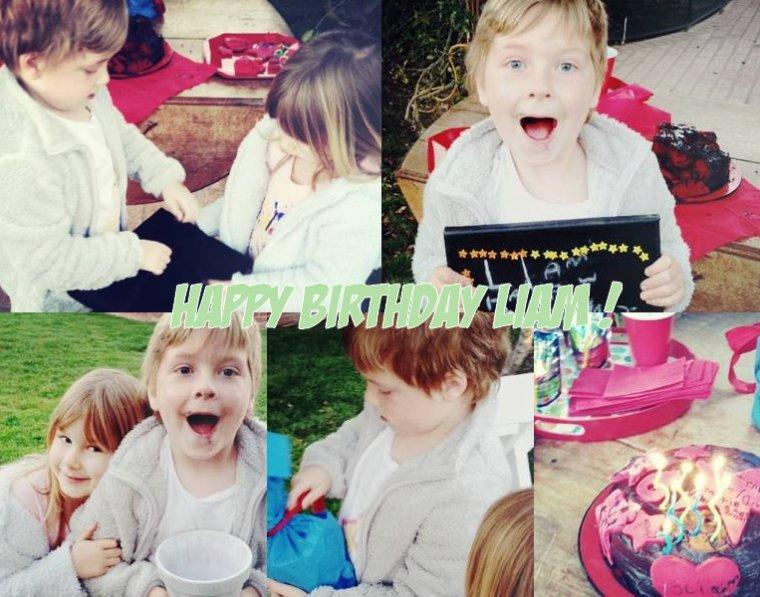 Tori a postée des photos de l'anniversaire de Liam qu'ils ont fait entre eux. Stella a tout organisé du gâteaux aux cadeaux ! Elle est trop adorable ! Voici les photos ainsi qu'une vidéo ou on peu voir Finn dans les bras de Dean, Hattie,Jack.