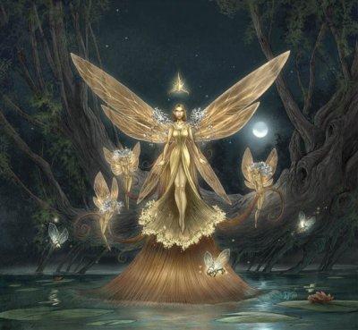 j'ai tellement de jolies fées que je ne sais par laquelle commencer sans froisser les autres hihi ...