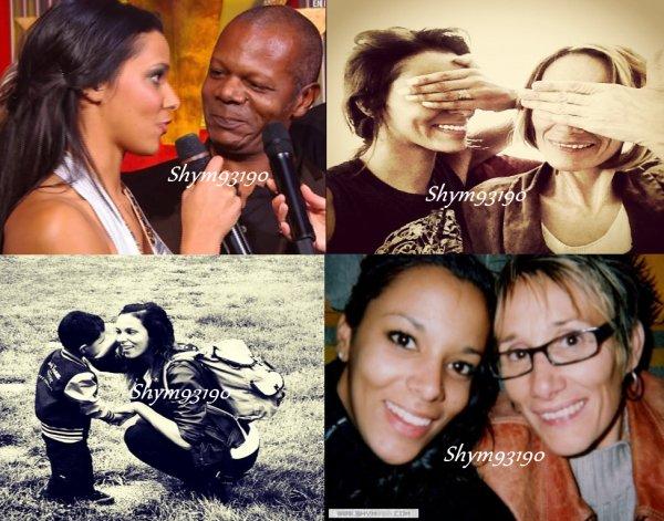 Shy'm et sa famille