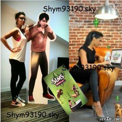 Shy'm Ambassadrice des Sims 3 Animaux & Cie