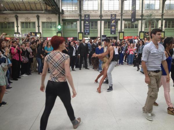Shy'm flashmob DALS 3