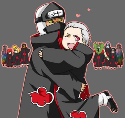 L'amour dans l'Akatsuki *w*