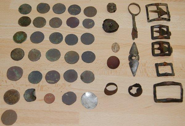 30 monnaies de trouvée en 5 h et une blanche