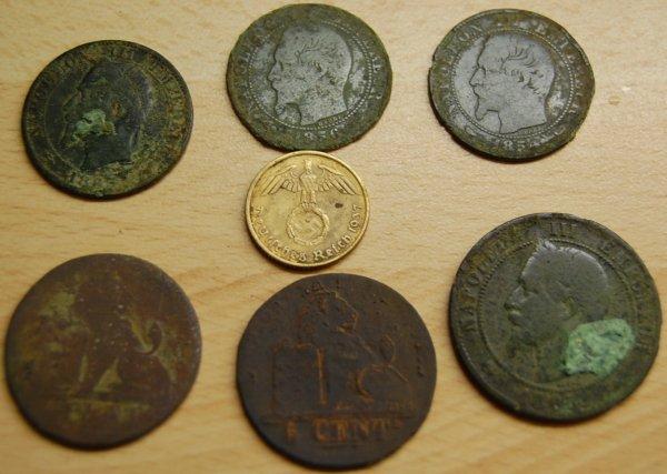 61 monnaies truc de fou