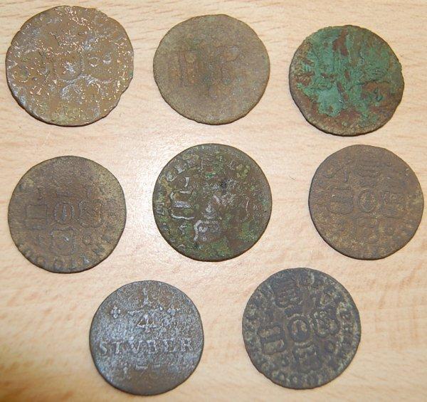 quelque monnaies diverse