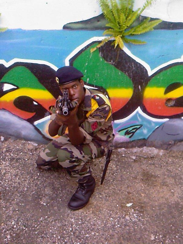 le jeune militaire