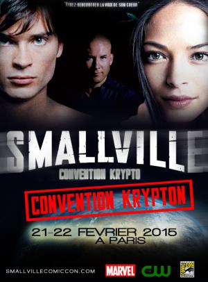 CONVENTION SMALLVILLE EN FRANCE !!