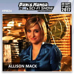 ALLISON MACK EN FRANCE!!