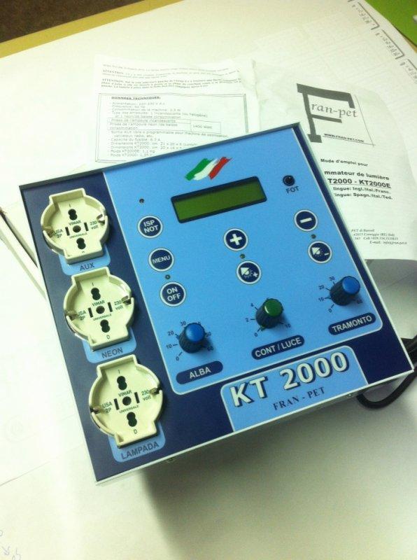 Dimmer kt2000 régulateur pour élevage