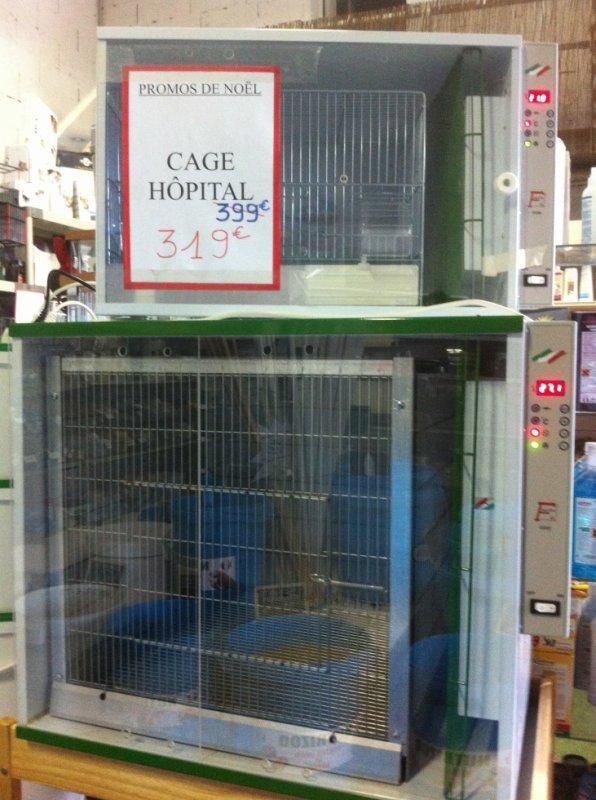 Promo de Noêl sur les cages hopital