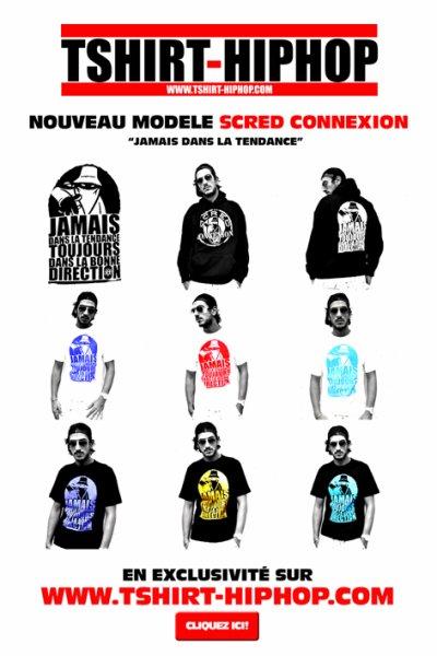 Les nouveaux tshirts de la Scred sont là !