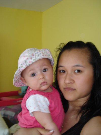 ma cherie et sa fille