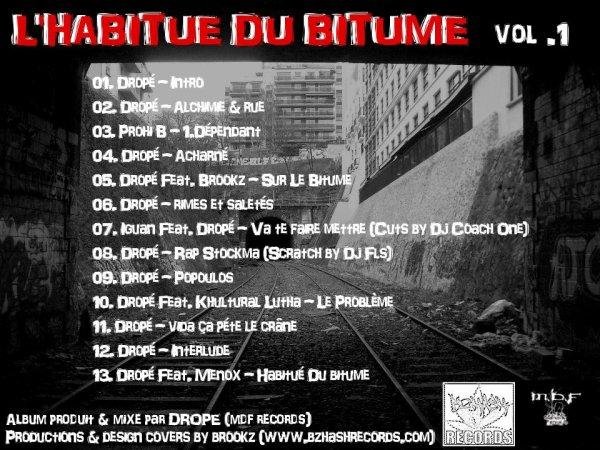 L'Habitué Du Bitume Vol.1