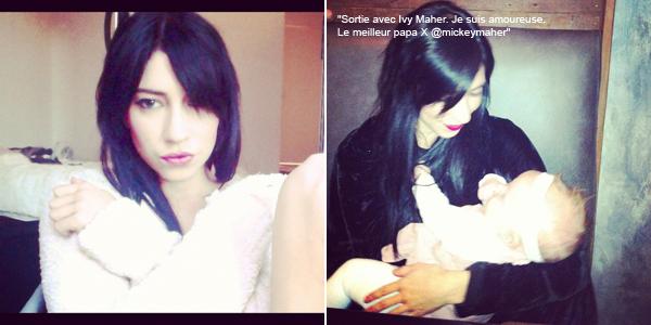 Photos personnelles de Jessica sur Twitter.