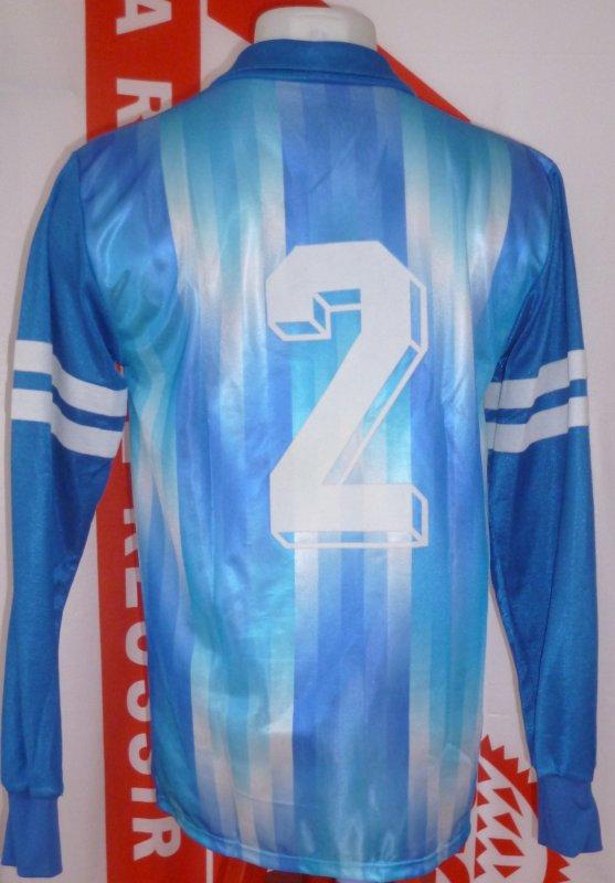Dos maillot extérieur porté en coupe saison 1988 1989