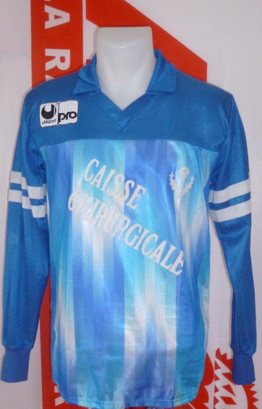 Maillot extérieur porté en coupe saison 1988 1989