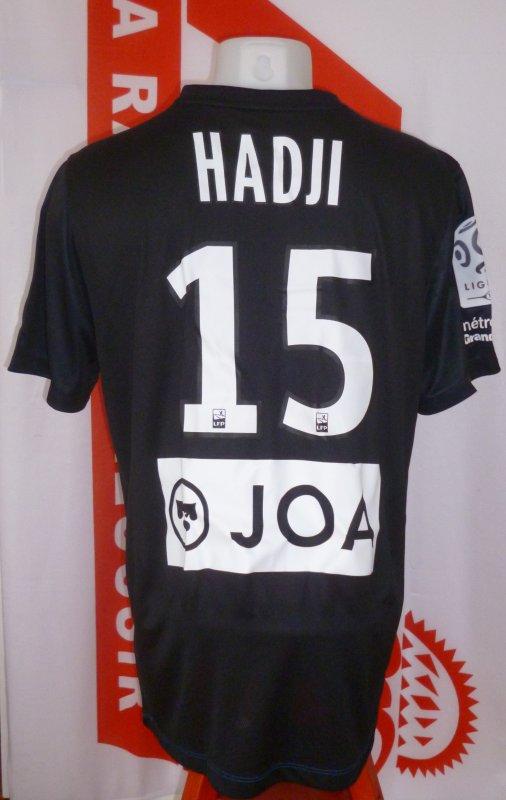 Dos du maillot porté par Youssouf HADJI saison 2016 2017