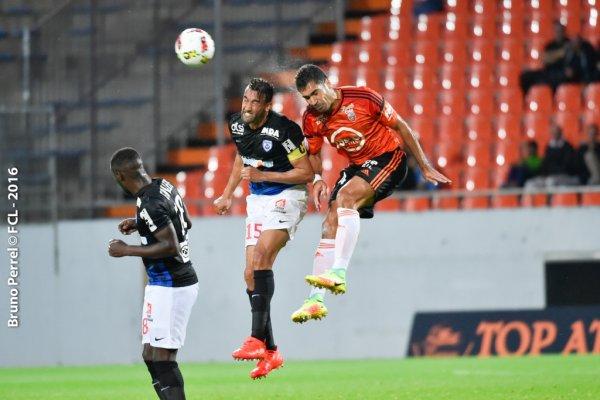 Youssouf HADJI lors du match LORIENT ASNL saison 2017 2017