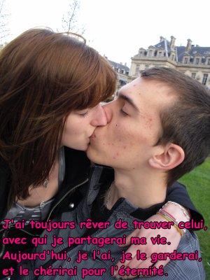 Il était une fois, un homme et une femme, ils tombèrent amoureux l'un de l'autre ... Et il vécurent heureux jusqu'à la fin des temps !!!