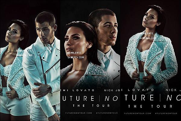 .    Découvrez de nouvelles photos promotionnelles de Demi et de Nick J. pour le Futur Now Tour. J'aime énormément ce photoshoot ! Demi Lovato et Nick Jonas sont vraiment magnifiques sur les photos. Donnez vos avis !.. .