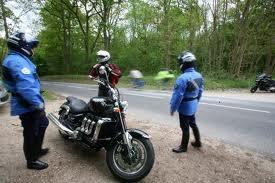Une amende pour le motard piégé par sa caméra