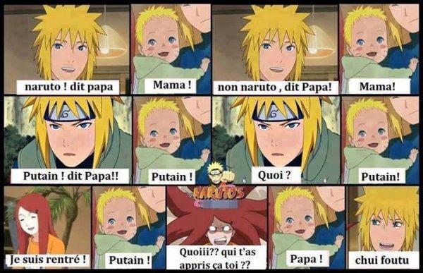 Voici comment Naruto à appris à dire Papa