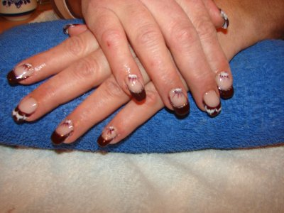 pose d ongle  marie-france