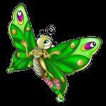 (l) jolis les papillons (l)
